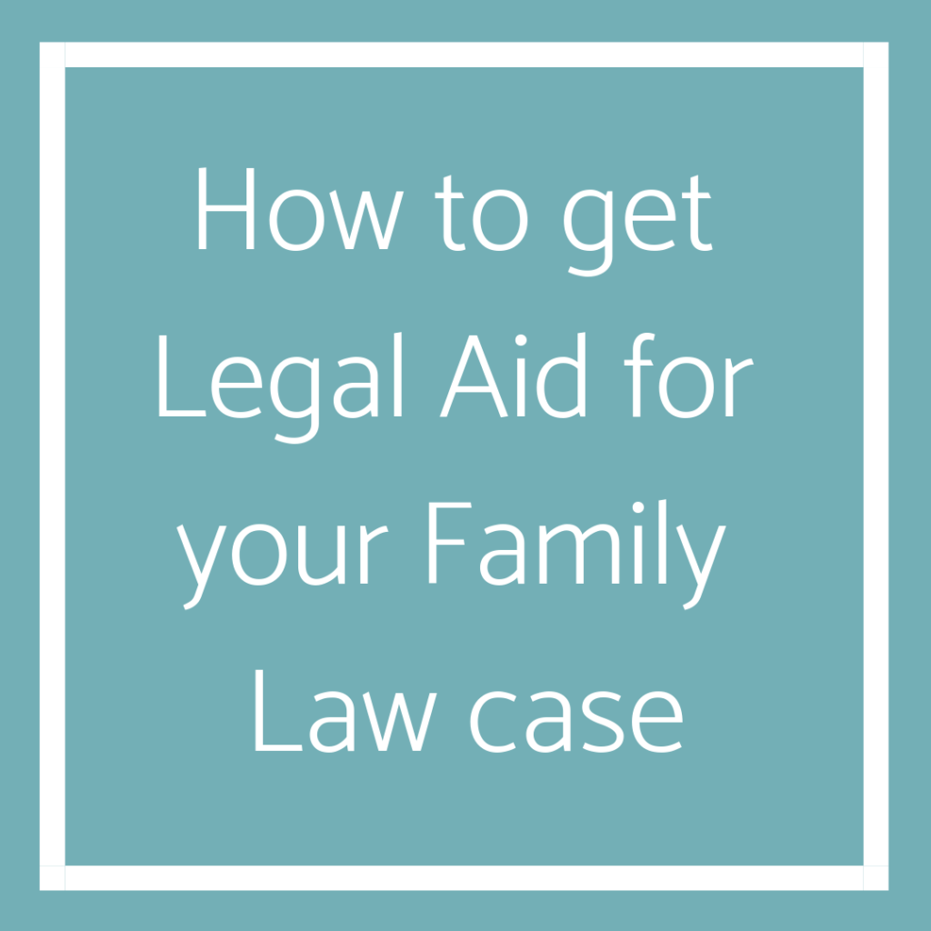 Legal Aid Family Law